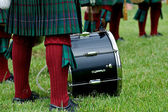 Cultural image of Scottish Drummer. — Stock Photo