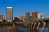 Cityscape of Richmond, Virginia. — Stock Photo