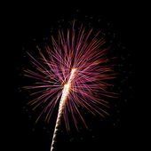 Sparks and Fireworks for holidays. — Stock Photo