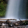 Mist of the Latourell falls — Stock Photo