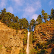 The top of Mulnomah falls — Stock Photo