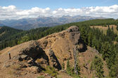 Panoramic view of Cascade mountains — Stock Photo