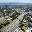 Seattle from above — Stock Photo