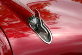 Antique car ornament detail — Stock Photo