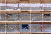 Steigers op gebouw — Stockfoto