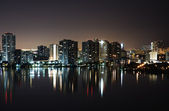 Intercoastal at night — Stock Photo