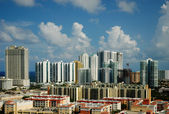 Cityview of Sunny Isles Beach, Florida — Stock Photo