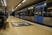 ストックホルムの地下鉄 — ストック写真