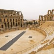 El Jem Colosseum — Stock Photo #2609604