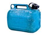 绿色塑料气体可以 — 图库照片