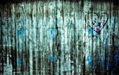 Mur de béton urbain — Photo