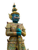 Thai guardian statue — Photo