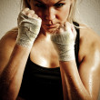Royalty-Free Stock Photo: Boxer girl
