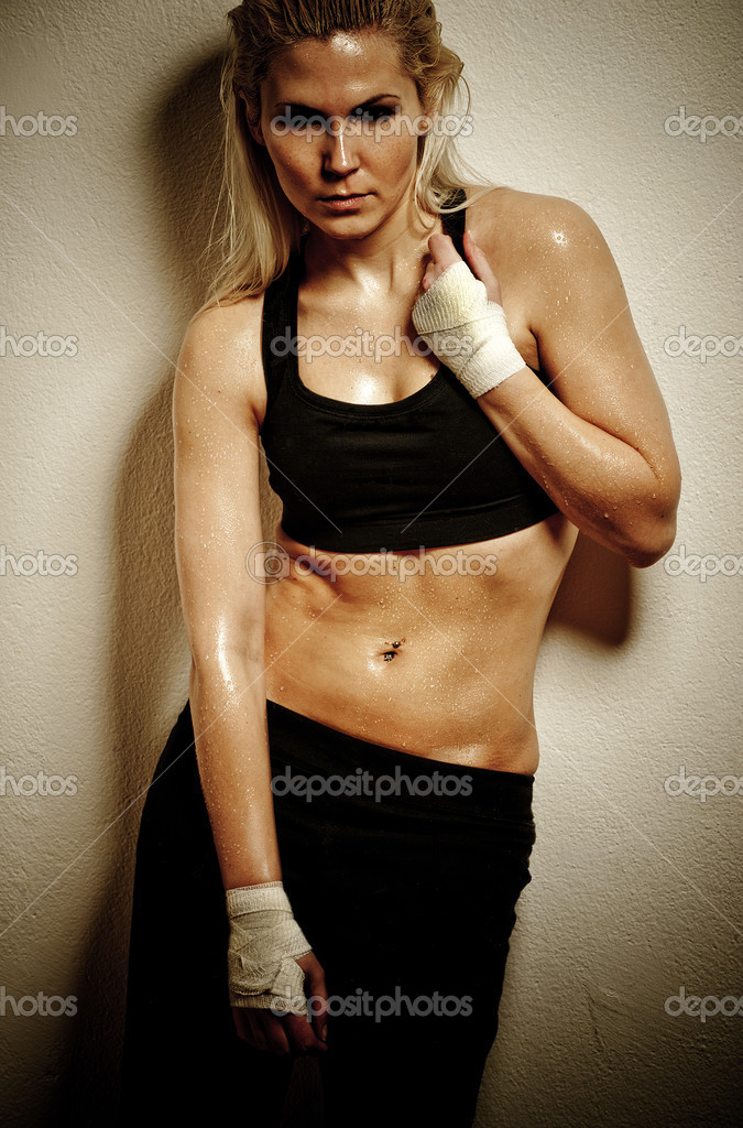 Hot Girl Workout http://depositphotos.com/2470672/stock-photo-Boxer-girl.html