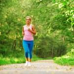 Beautiful Woman Runner — Stock Photo #2622905