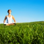 Young Woman Doing Yoga — Stock Photo #2627013