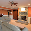 Stock Photo: Family Room Interior