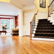 Foto Stock: Entryway in Upscale Home