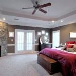Large Bedroom Interior — Stock Photo