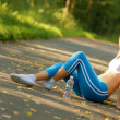 Pretty Young Runner — Stock Photo