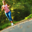 Pretty Young Runner — Stock Photo #2628509