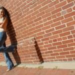 ファッションの女の子 — ストック写真