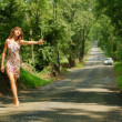 Постер, плакат: Pretty Hitch Hiker