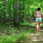 Mature Woman Runner — Stock Photo #2629374