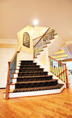 Staircase in Upscale Home — Stock Photo