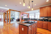 Upscale Kitchen Interior — Foto de Stock