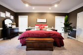 Large Bedroom Interior — Stock Photo