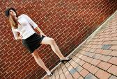 Brick Fashion — Stock Photo