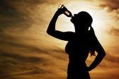 Sunset Thirst — Stock Photo
