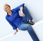 Casual Mature Woman — Stock fotografie