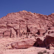 The lost city of Petra. - Stock Photo