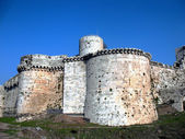 Crak des Chevaliers. Battle towers. — Stock Photo