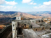 Crak des Chevaliers. Bird's eye — Stockfoto