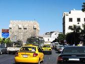 Damascus, fortress — Stock Photo