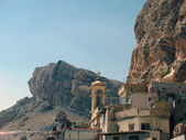 Syria, the monastery of St. Thekla — Stock Photo