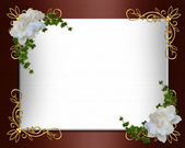 Wedding Invitation border elegant — 图库照片