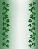 St Pattys Day Border simple — Stock Photo