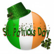 Stock Photo: St Patricks Day icon clip art