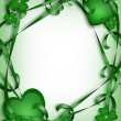 Stockfoto: St. Patricks Day Card Irish Background