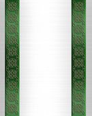 St Patricks Day Celtic Knot Border — Stock Photo