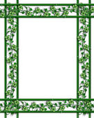 St Patricks Day Border Illustration — Foto de Stock