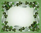 St Patricks Day Border — Stock Photo