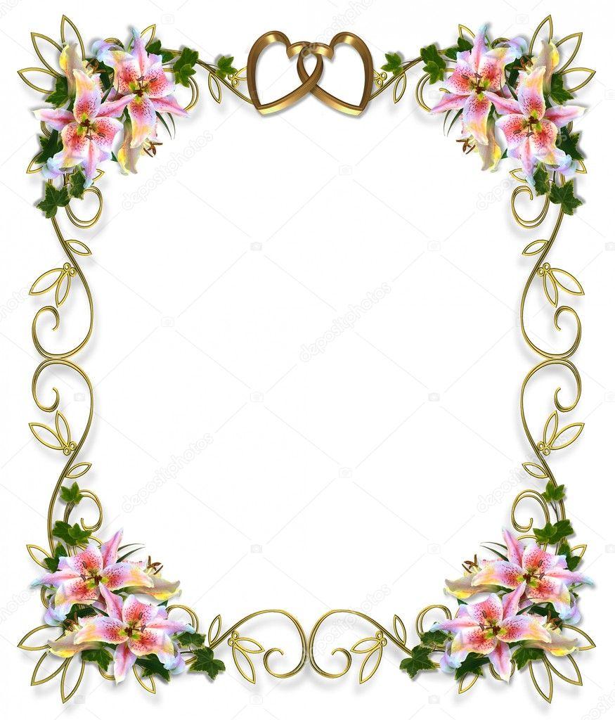 wedding invitation frames | Reference Wedding Decoration