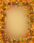Fall Leaves Autumn Background — Stock Photo