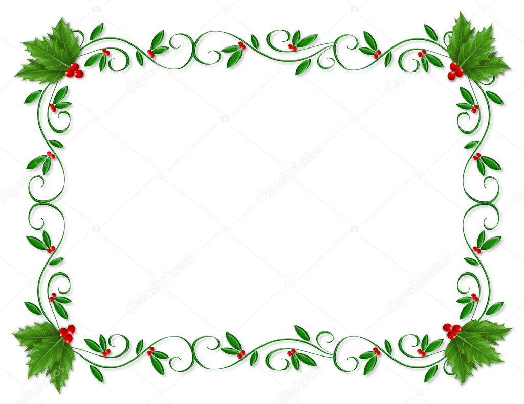 Christmas Card Borders