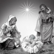 Nativity Christmas Scene Religious - Stock Photo